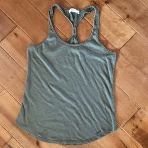 Abercrombie & Fitch Raceback Tank Top Size Large